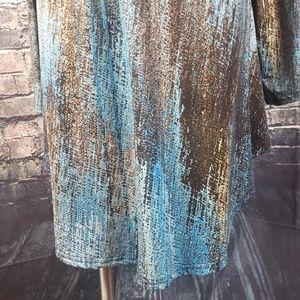Azalea Dresses - Azalea Cowl Neck Tunic Dress, Size 2XL